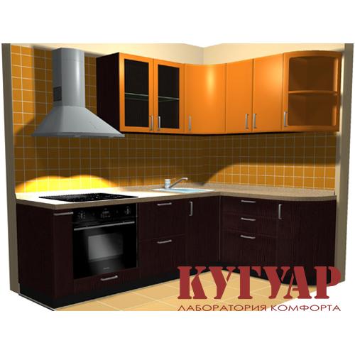 Дизайн кухни в 6 кв.м